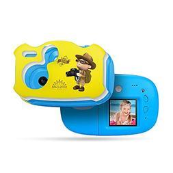 AMKOV Mini Kids Digital Video Camera Built-in Rechargeable B