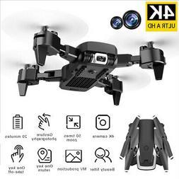 Mini Drone PRO Selfie WIFI FPV Dual HD Camera Foldable Arm R