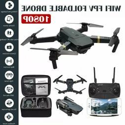 Mini Drone X Pro 2.4G WIFI FPV Dual 1080P 4K HD Camera Folda