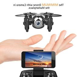 MANZOKU Mini Drone with HD Camera WiFi FPV Live Video, One K