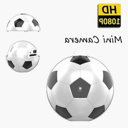 Mini Football Spy Camera, 1080P HD Small Hidden Cameras Home