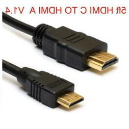 mini hdmi c to hdmi a cable