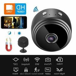 Mini IP WIFI 1080P HD Camera Camcorder Wireless Home Securit