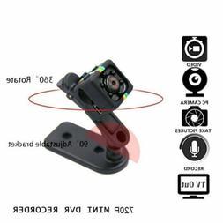 Mini Micro SPY HD Cam Hidden Camera SQ11 Video USB DVR Recor