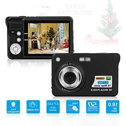 HD Mini Digital Camera with 2.7 Inch TFT LCD Display,Point a