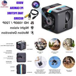 Mini Smart 1080P HD Camera Night Vision Motion Detection/Tak
