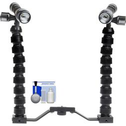 Intova LED Mini Torch Flashlight / Video Light with Addition