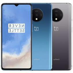 New OnePlus 7T - 128GB  GSM Unlocked Blue SIlver 4G LTE Andr
