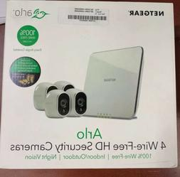 new arlo security system with 4 wireless