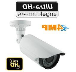 4 Megapixel HD 120ft Night Vision Outdoor IP Manual Zoom Sec