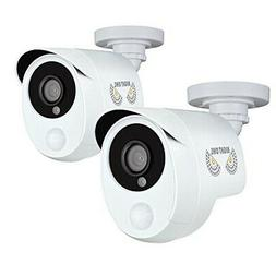 One Pack Add-On Wired HD AnalogSecurityCamera w/Heat Based M
