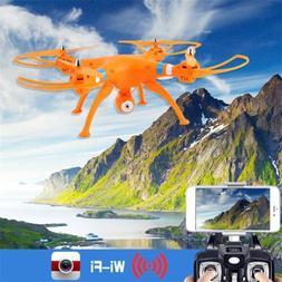 Orange/White Syma X8W 6-Axle Gyro RC Quadcopter Drone RTF 2M
