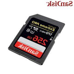 Original <font><b>SanDisk</b></font> SD Extreme Pro 170MB/s