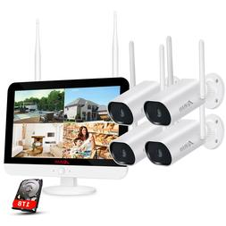 outdoor wireless security wifi camera system cctv