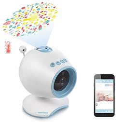 WiFi Baby Monitor, HOLABABY P1 HD Baby Video Camera with Two