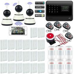 P39 G90B APP WiFi GSM Wireless Home Security Alarm Burglar S