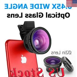 Phone Lens kit 0.45x Super Wide Angle & 12.5x Super Macro Le