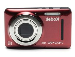 Kodak PIXPRO FZ53 16.2 Megapixel Compact Camera - Red - 2.7