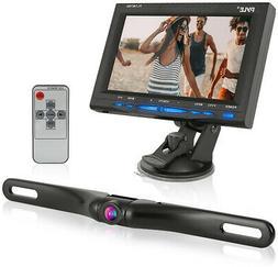Rear View Backup Car Camera - Screen Monitor System w/ Parki