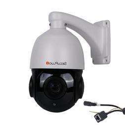 POE PTZ IP Camera 5MP Super HD 2592x1944 Pan/Tilt 30x Zoom S