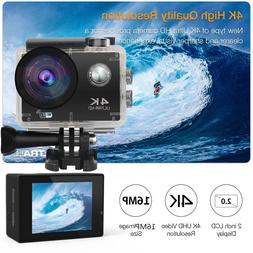Pro 4K Action Camera WiFi Camcorder Ultra HD Camera Waterpro