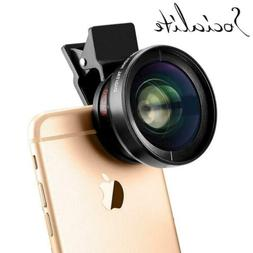 SOCIALITE Professional HD Camera Photo & Video Clip On Lens
