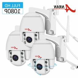 ANRAN PTZ Security Camera Pan/Tilt 1080P 4XZoom HD Outdoor C
