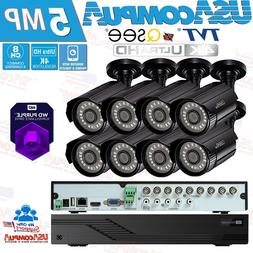 Q-See  Security Cameras System  Bullet 1080p Analog 8CH DVR