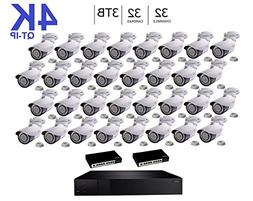 Q-See 4K  QT-IP Kit Thirty Two Camera with NVR IP Ultra-HD 3