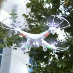 RC 6-Axis Quadcopter Flying Drone Toy With Gyro and HD Camer