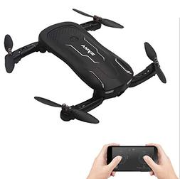 Bangcool RC Drone Foldable 4 Axis WiFi HD Camera Remote Cont
