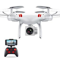 Aurorax RC Drone Wifi FPV Quadcopter,Wide Angle Lens Hold HD