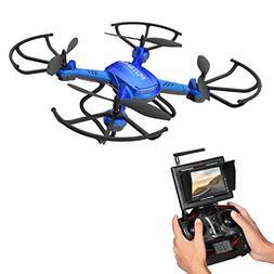 RC Quadcopter, Potensic F181DH Drone RTF Altitude Hold UFO w