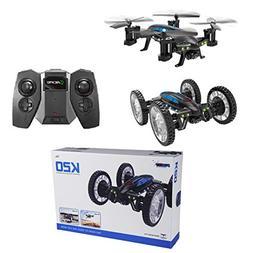 Bangcool RC Quadcopter WiFi HD Camera Sky Ground Mode RC Car