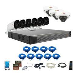 RevoAmerica Ultra HD Audio Capable 16 Ch. 3TB NVR Surveillan