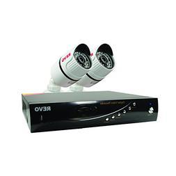 REVO America RT41B2G-5G T-HD 4-CH 5G DVR Surveillance System