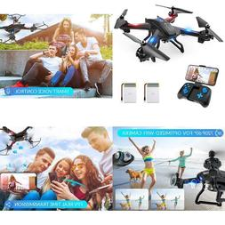 Wifi Fpv Drone With 720P Hd Camera, Voice Control, Gesture C