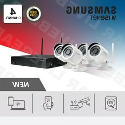 Samsung SNK-B73041 - 4 Ch 1TB HD 1080p w/ 4  Wireless Camera