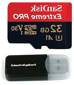 32GB Sandisk Extreme Pro 4K Memory Card works with DJI Mavic