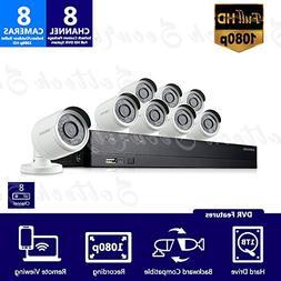 SDH-B74081-1TB - Samsung 8 Channel 1080p HD 1TB Security Cam