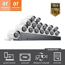 Samsung Wisenet SDH-C85100-16 16 Channel 4MP Super HD DVR Vi