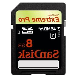 SanDisk SDSDXP1-008G-A75 8GB Extreme Pro SDHC Memory Card