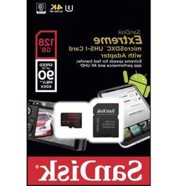 SanDisk SDSQXVF-128G-GN6MA 128GB Extreme MicroSDXC UHS-I