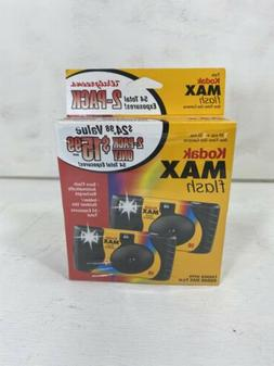 Sealed Box Kodak HD Power Flash 2-Pack Disposable Camera's