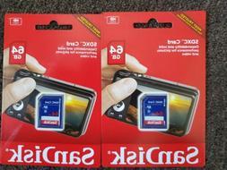 SDKSDSDB064G - SANDISK SDSDB-064G-A46 64GB SDHC Memory Card