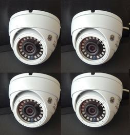 Set  HD-TVI 2.4MP 1080p HD CMOS Outdoor IR Dome Security Cam