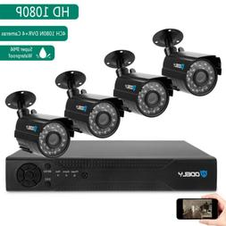 4CH HDMI CCTV 5in1 Outdoor Waterproof DVR IR-CUT HD Camera S