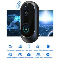 smart wireless wifi doorbell hd camera ir