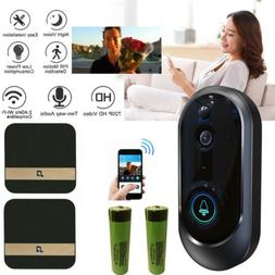 Smart Wireless WiFi Doorbell HD Camera IR Visual Video Phone