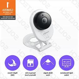 Samsung SNH-E6413BN SmartCam HD WiFi IP Camera with 16GB mic